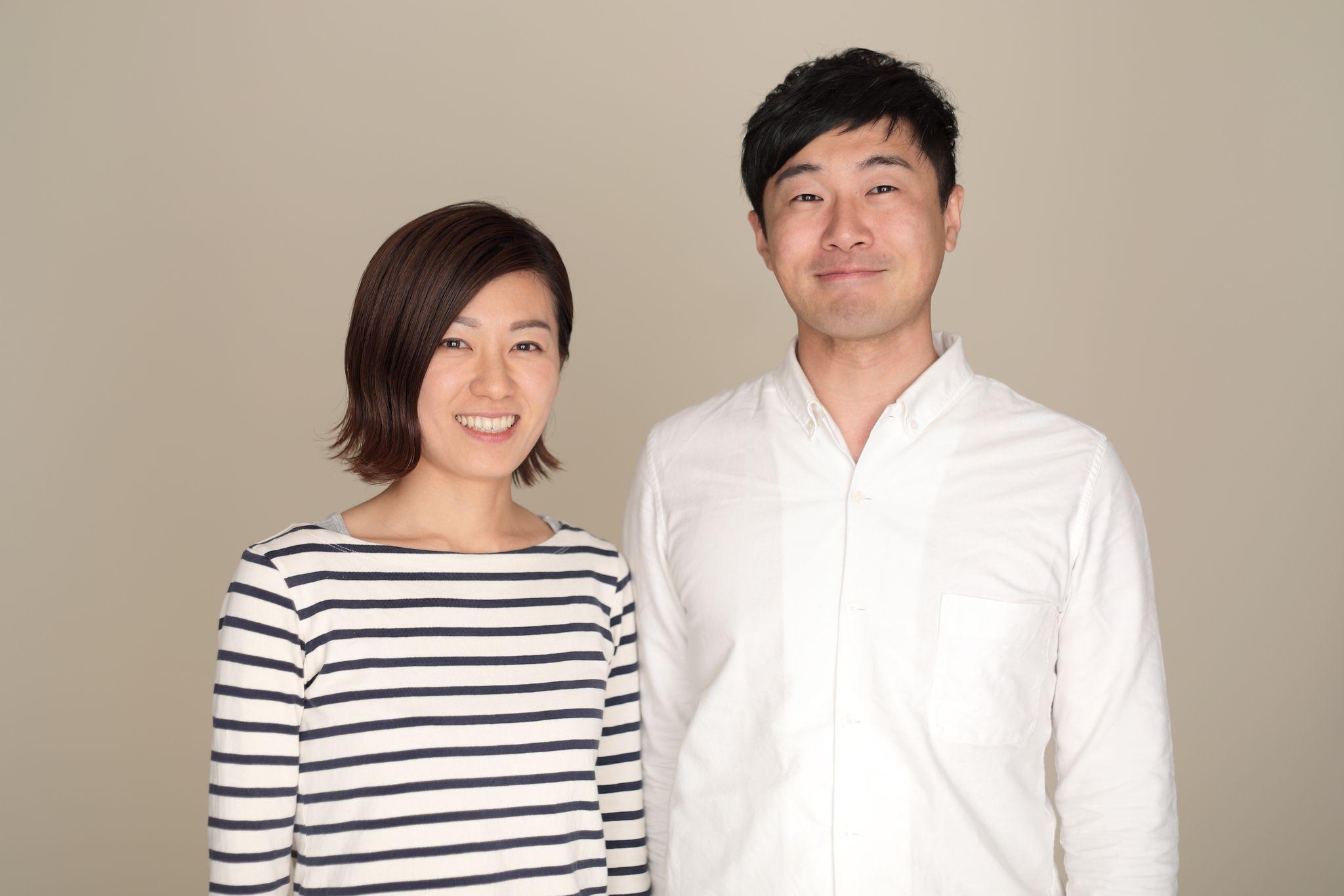 亜沙美さんと昌広さんお二人の写真
